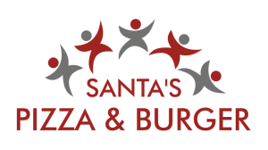 Logo - Santa´s Pizza & Burger